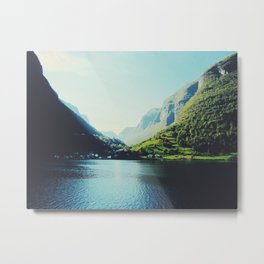 Mountains XII Metal Print