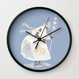 ORIXAS_ oxalá Wall Clock