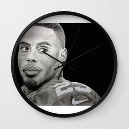 Rashad Jennings Drawing Wall Clock