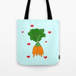 Happy Carrots Tote Bag