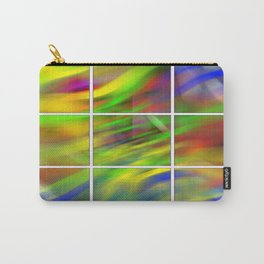 colourful abstraction Carry-All Pouch