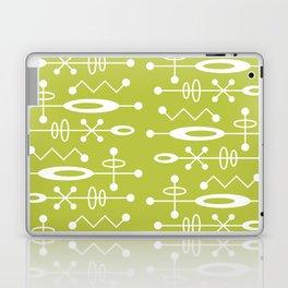 Mid Century Modern Radioactive Surfer 251 Chartreuse Laptop & iPad Skin
