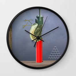 dead birds don´t sing Wall Clock
