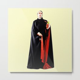 Dracula's Tampons Metal Print