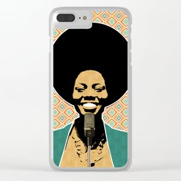 The Soul Diva Clear iPhone Case