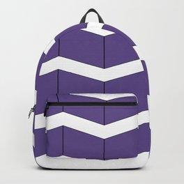 Violet Zig Zag Backpack