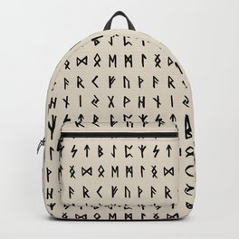 Nordic Runes // Whale Bone Backpack