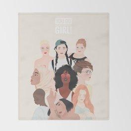 Women | International Women's Day Throw Blanket