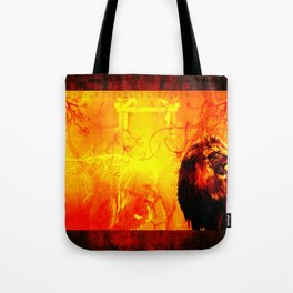The Lion That Roars Tote Bag