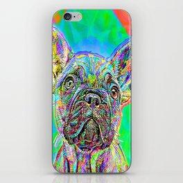 French Bulldog Painting iPhone Skin