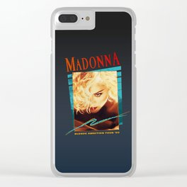 Blonde Ambition '90 Clear iPhone Case