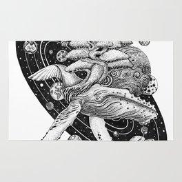 Space Whale Rug