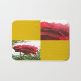Red Rose with Light 1 Blank Q7F0 Bath Mat