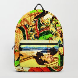 Kyoto Ukiyoe Landscape Backpack