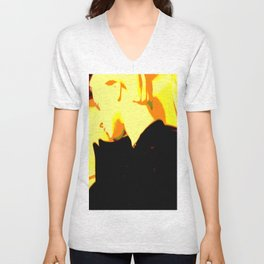 Ghost Of Elvis Unisex V-Neck