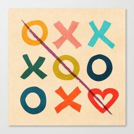 xoxo Love Canvas Print