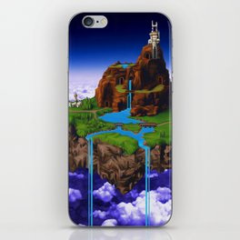 Floating Kingdom of ZEAL - Chrono Trigger iPhone Skin