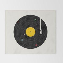 Music, Everywhere Throw Blanket