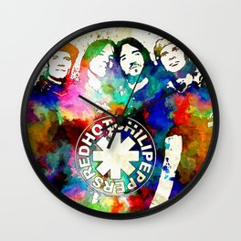 The Chili Peppers Grunge Wall Clock
