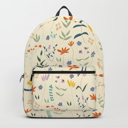 Retro Botanical Backpack