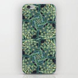 Green Herb Garden, Dill Flowers iPhone Skin
