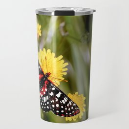 A Red Dotted Checkerspot Travel Mug