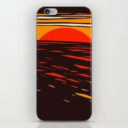 Sol del Desierto iPhone Skin