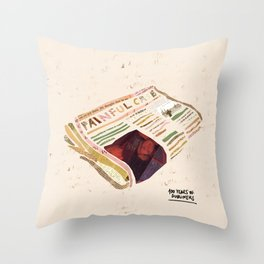A painful Case - 100 Years of Dubliners Throw Pillow