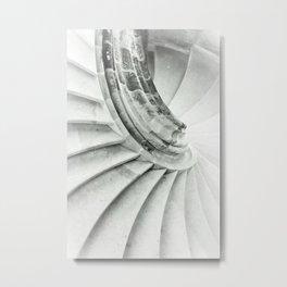 Sand stone spiral staircase 009 Metal Print