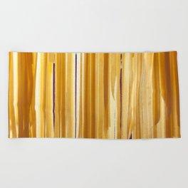 Sundried stripes Beach Towel