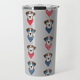 boxer bandana summer dog breed gifts pure breed pets Travel Mug