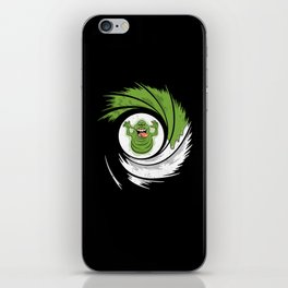 The Spud Who Slimed Me iPhone Skin