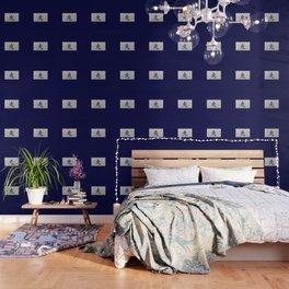 Chinese zodiac sign Rabbit blue Wallpaper