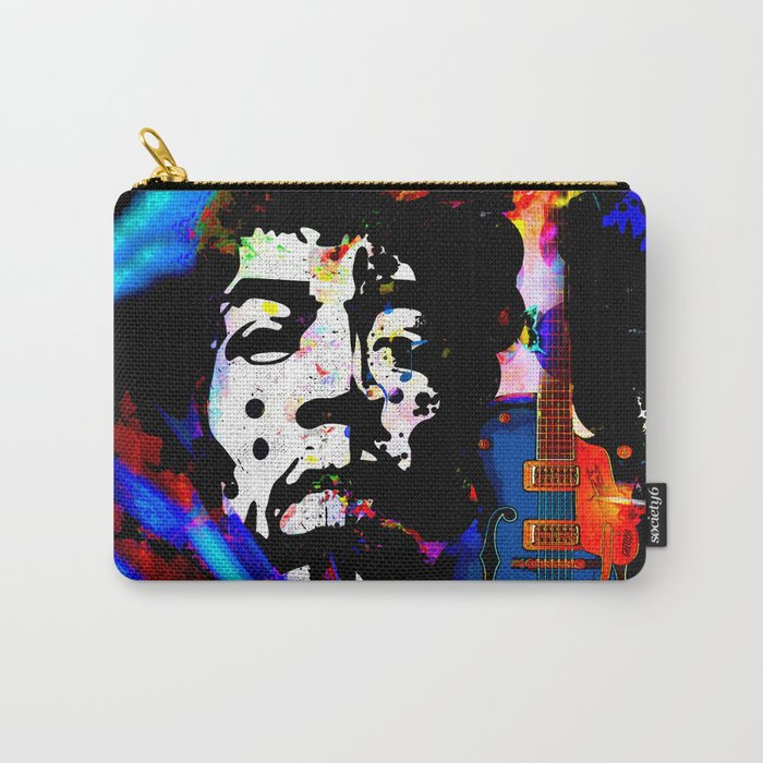 GUITAR MAN:  MUSIC DOESN'T LIE Carry-All Pouch