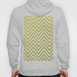 Geometric Lines Pattern Yellow / Golden Hoody