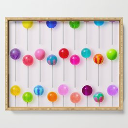 Lollipop Rainbow Serving Tray