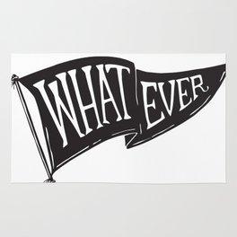Whatever Flag Rug