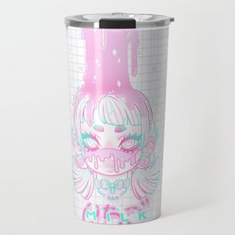 Strawberry Milk Travel Mug