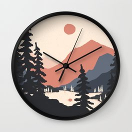 View From the East Shore... Wall Clock
