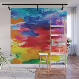 Watercolor Summer Wall Mural