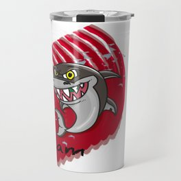Requin mangeur Travel Mug