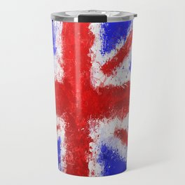 Union Jack Graffiti Travel Mug