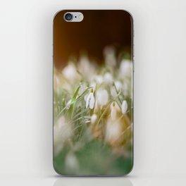 Snowdrop iPhone Skin