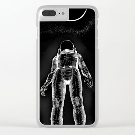 Astroman Clear iPhone Case
