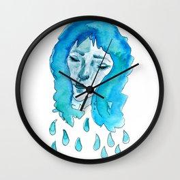 Drip Girl Wall Clock