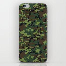 U.S. Woodland Camo iPhone Skin