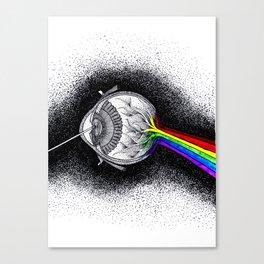 The Dark Side of My Mind Canvas Print
