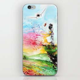 """""""By the cliff"""" iPhone Skin"""