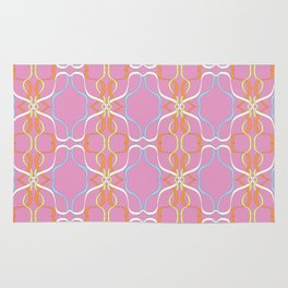 Ribbon swurl Rug