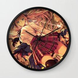 Anime girls Wall Clock
